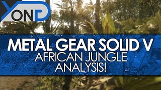 Metal Gear Solid V - African Jungle Gameplay Analysis