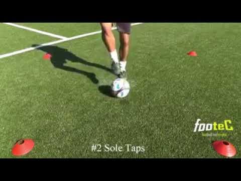 30 футбольных упражнений для улучшения навыков контроля мяча
