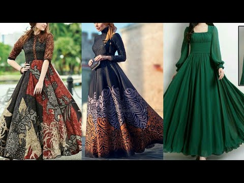 Stunning Long Sleevs Floor Length Maxi Dresses 2019