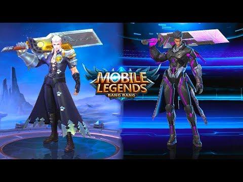 Alucard | Obsidian Blade Legend Skin VS Child Of The Fall Epic Skin | Mobile Legends