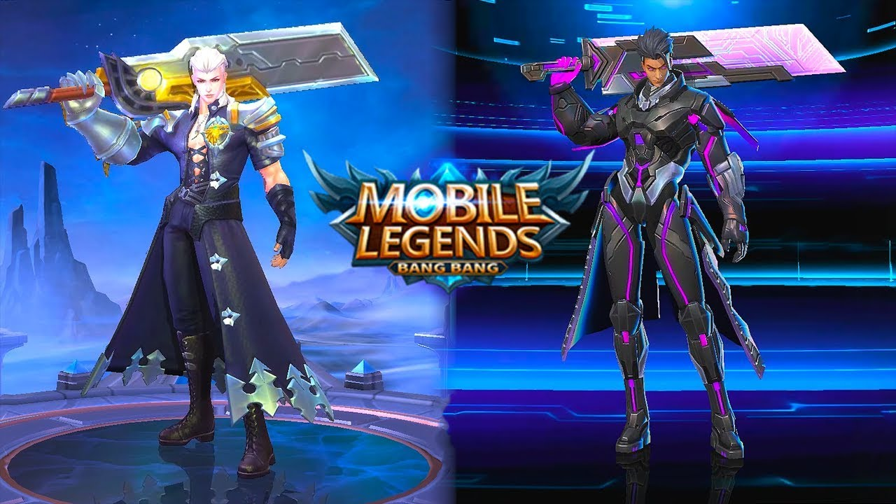 Alucard  Obsidian Blade Legend Skin VS Child Of The Fall Epic