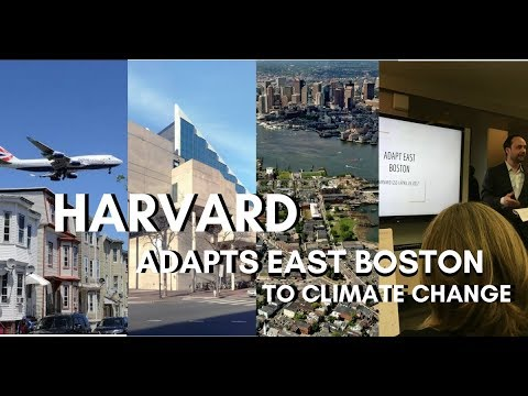 Harvard Adapts East Boston to Climate Change