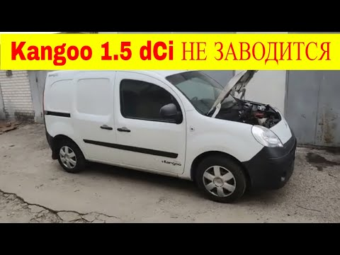 Renault Kangoo 1.5 dCi не заводится двигатель ошибок нет очередная загадка