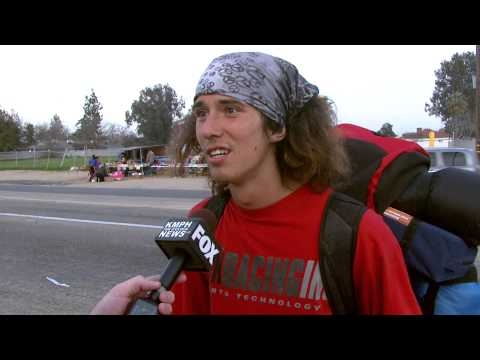 Kai, Hatchet Wielding Hitchhiker, Amazing Interview w/ Jessob Reisbeck