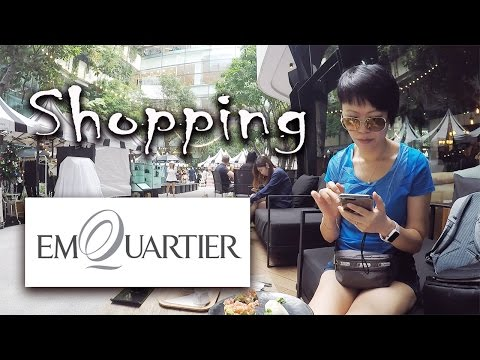 Emquartier Luxurious Shopping Mall Bangkok 👜🍽 | BTS Phrom Phong (Part I) | 曼谷