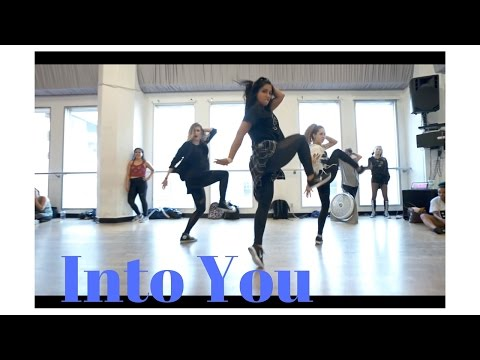 Into You by Ariana Grande | @DanaAlexaNY Jazz Funk Choreography