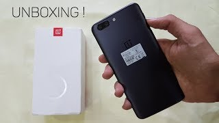 OnePlus 5 Quick Unboxing & Impressions (Retail Unit) â??