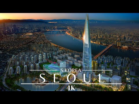 Seoul 4K Drone 🇰🇷 / Epic Seoul Timelapse / South Korea As Never Seen Before