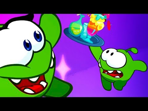Om Nom Stories: Waiter | New Season 7 Dream job | Cut the rope | Kedoo ToonsTV