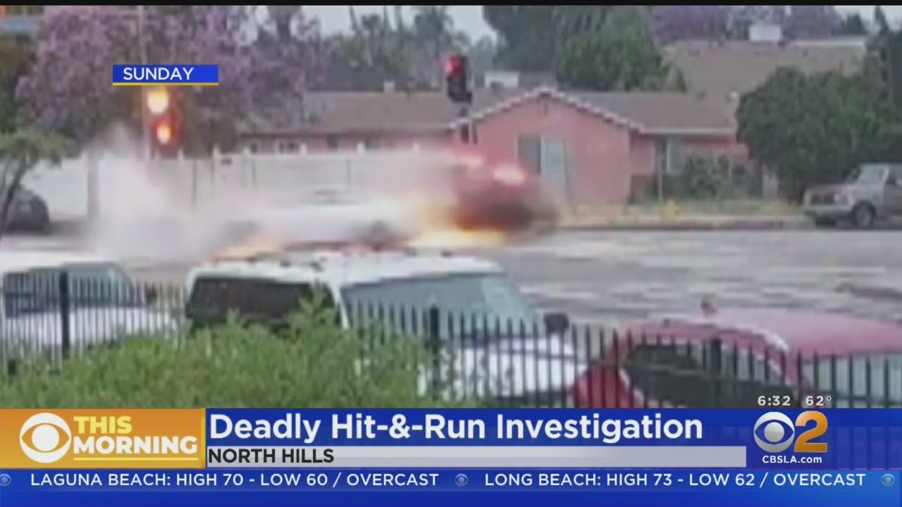 Los Angeles: Hispanic Woman Causes Fatal Car Crash And Walks Away: