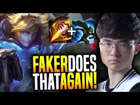 Faker Does it Again! SKT Faker Plays Ezreal Jungle! - SKT T1 Faker SoloQ Playing Ezreal Jungle!