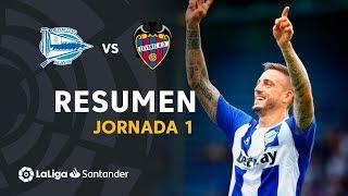 Resumen de Deportivo Alavés vs Levante UD (1-0)