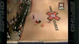 Jake Brown's biggest slam!! X games!