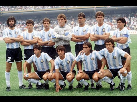 (1986) Argentina 3-2 Germany / The second Argentine World Champion // GOALS