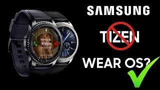 Video Samsung To Ditch Tizen On Its Smartwatch For Wear OS? download MP3, 3GP, MP4, WEBM, AVI, FLV September 2018