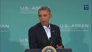 """Obama on Republican Candidates: """"They're All Denying Climate Change."""""""