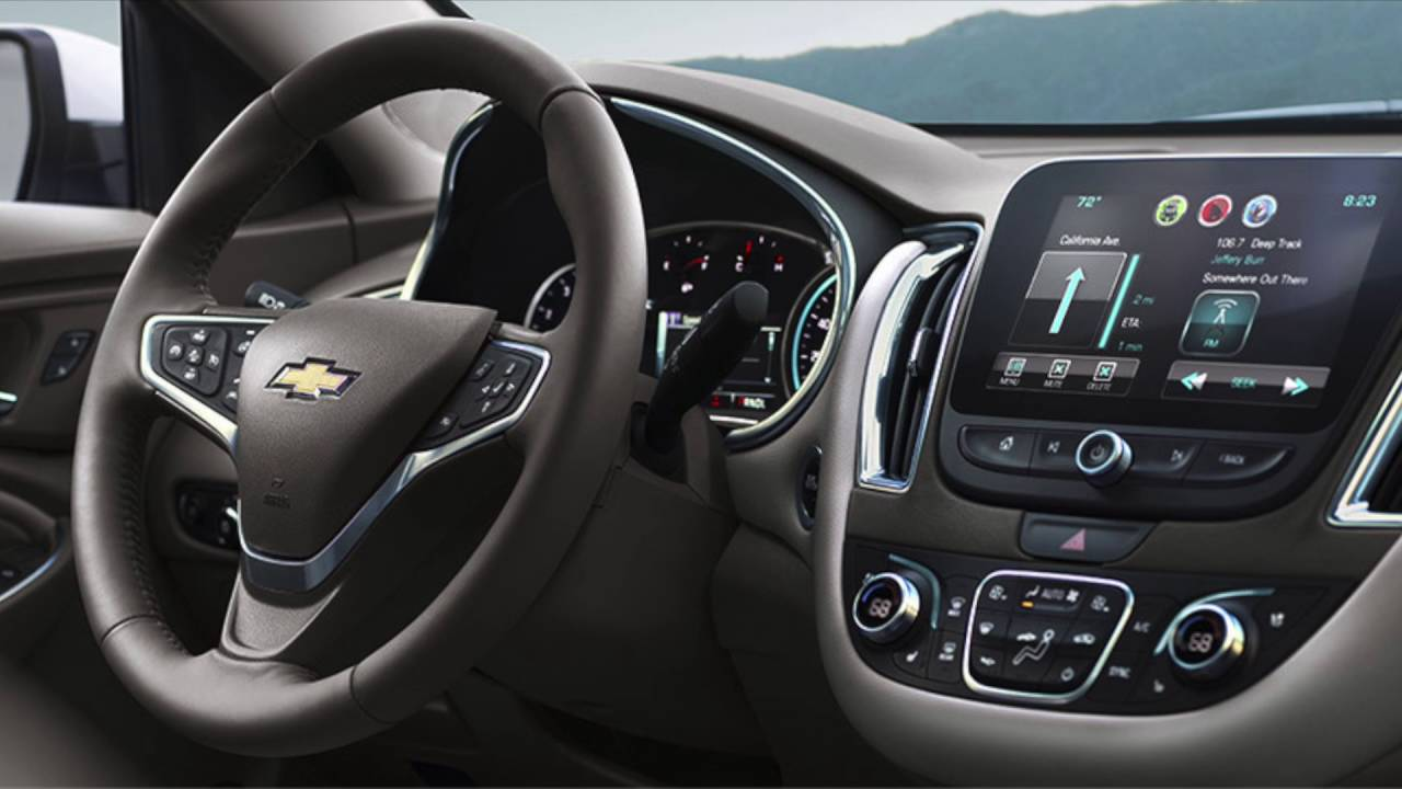 2017 Chevy Malibu Interior and Features in Boerne ...