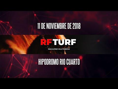 Mira todas las carreras --- 11 de noviembre --- Hipódromo Jockey Club Río Cuarto
