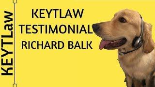 Testimonial for Richard Keyt by Richard Balk