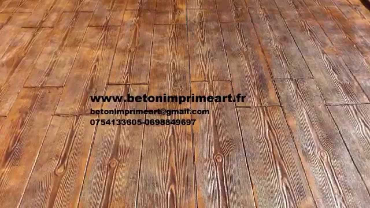 beton imprime romainville youtube france youtube. Black Bedroom Furniture Sets. Home Design Ideas