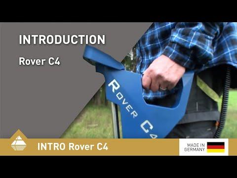 Metalldetektor und 3D-Bodenscanner Rover C4