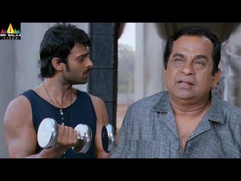 Mirchi Movie Scenes   Prabhas Comedy with Brahmanadam   Anushka   Sri Balaji Video