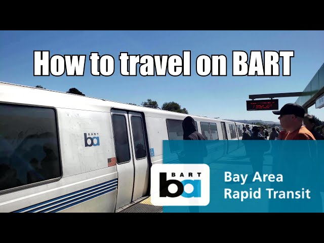 BART: How to travel on BART 2018
