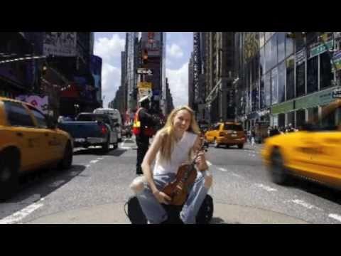 Jane Hunt Violinist- ViolinVenus - Promo Video