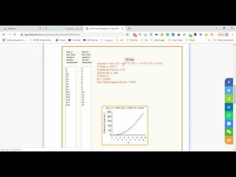 Nonlinear Regression Calculator