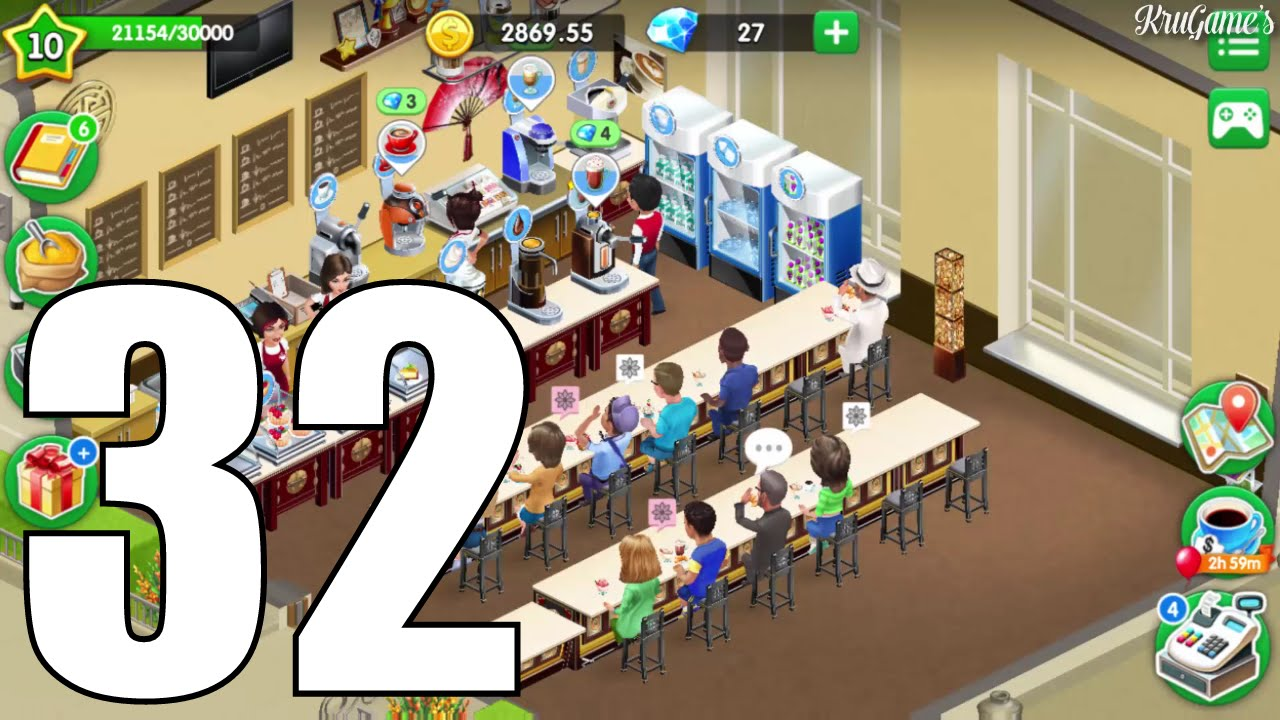 My Cafe: Recipes & Stories Android Gameplay #32 - Level 10