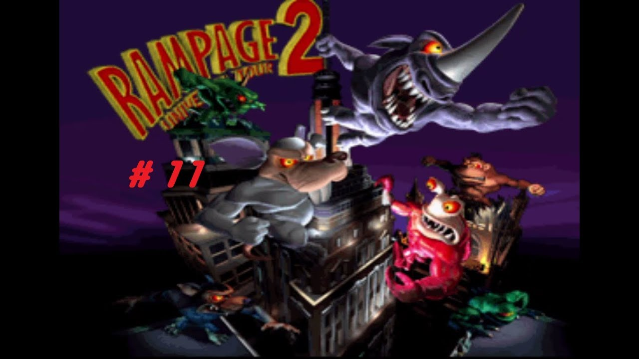 Rampage 2 Universal Tour Part 11 Ralph Is Free Youtube