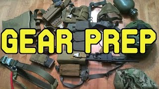 DesertFox Airsoft: Gear Preparation.  Quick insight into Jet