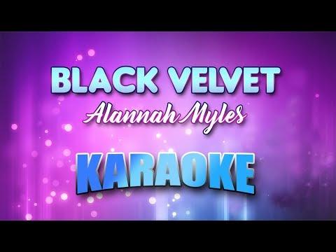 Alannah Myles - Black Velvet (Karaoke Version With Lyrics)