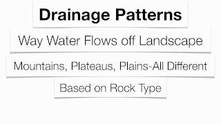 Landscapes-Hommocks Earth Science Department