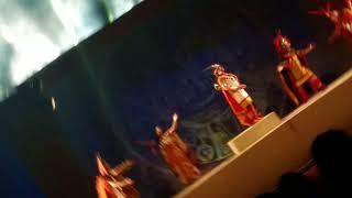 Ceremonia del INTI RAYMI en la HUACA PUCLLANA previa al 24 de Junio en el CUZCO