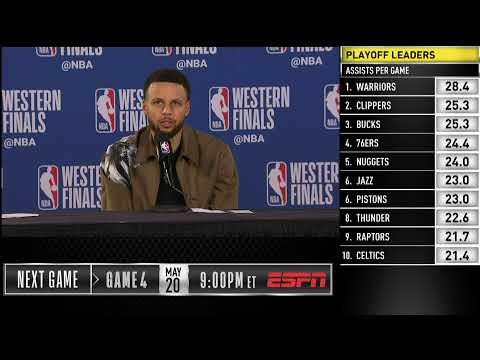 Stephen Curry Press Conference | Western Conference Finals Game 3 – NBA