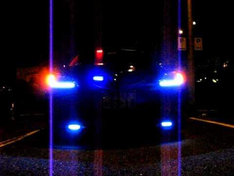 Baixar mazda 3 9 LED Fog Blinking red blue police Flash light Strobe Car Truck Lights - 3