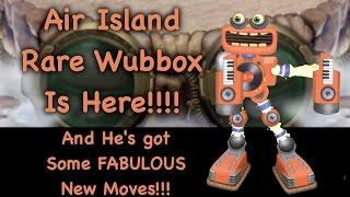 Love The New RARE WUBBOX on Air Island!!!! Sep 23, 2016