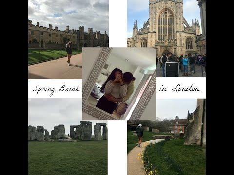 London Spring Break Vlog ft. My Boyfriend!!!!