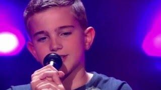 Шоу Голос 2016 Мальчик с красивым голосом поет песню SIA
