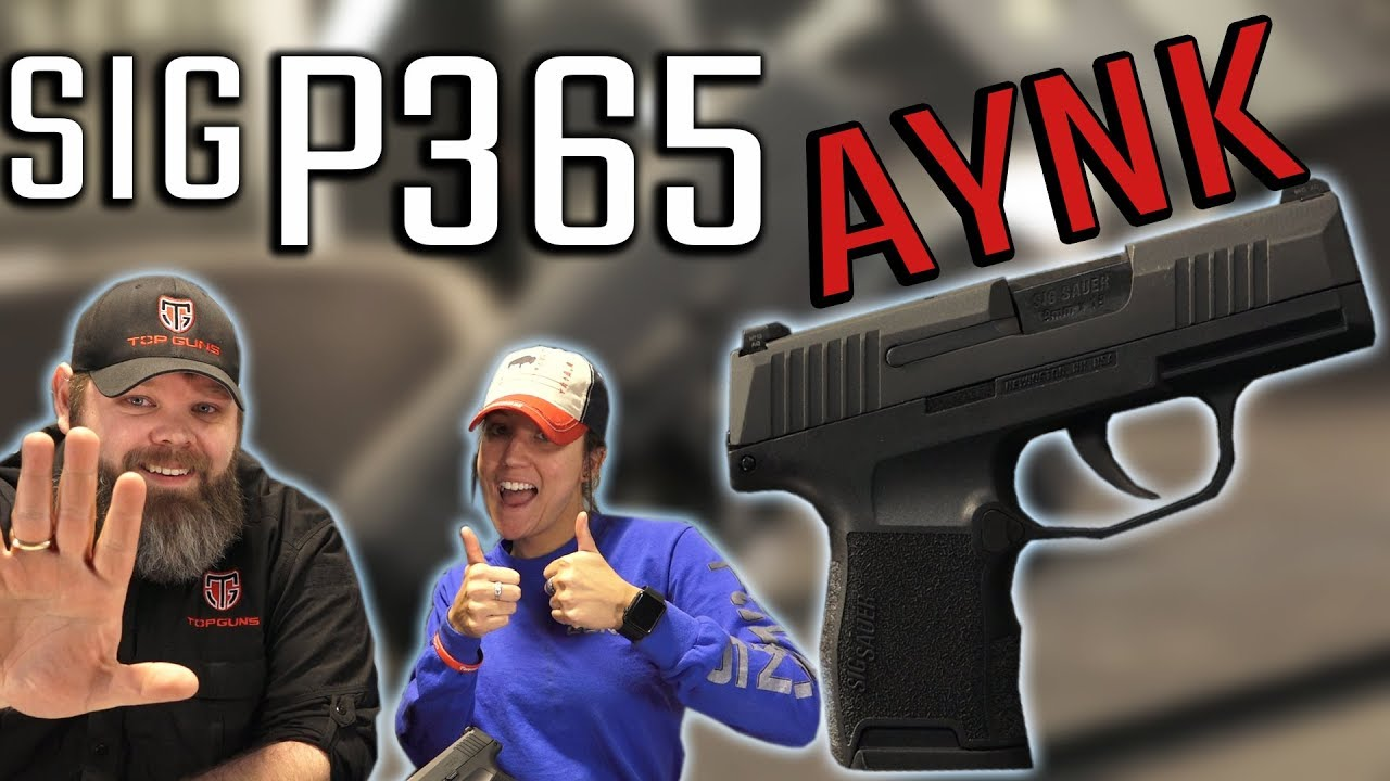 Sig Sauer P365 Nitron 9mm: A New CCW Champion? – USA Gun Shop