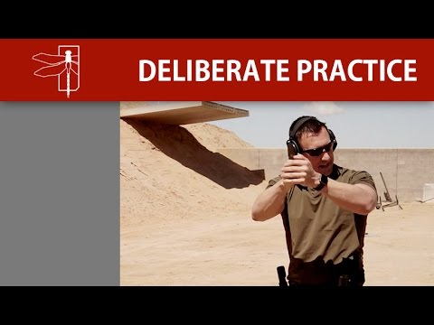 HANDGUN DRAW DELIBERATE PRACTICE