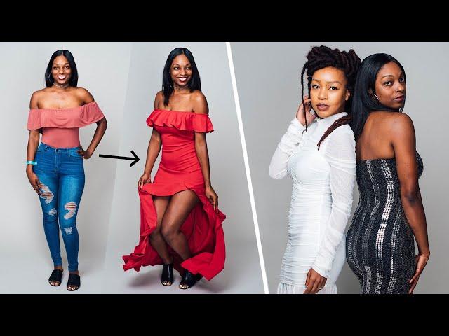 9989d4d3528 Women Try Fashion Nova Formal Wear - YouTube