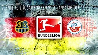 18.2.17 1.Fc Saarbrücken vs Fc Hansa Rostock