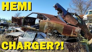 Exploring a Classic car Goldmine in Texas! Part 3 - Johns Salvage Co.