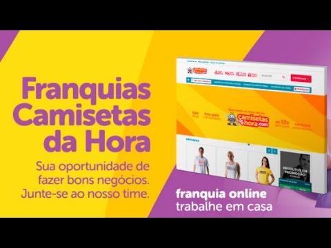 Como funciona à franquia on line Camisetas Da Hora  b958f42f278