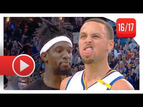 Stephen Curry Full Highlights vs Clippers (2017.02.23) - 35 Pts, 7 Reb, ON FIRE!