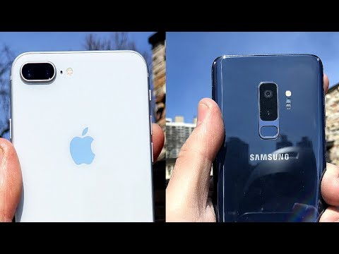 Switching from iphone to samsung galaxy s9 camera vs s7 edge