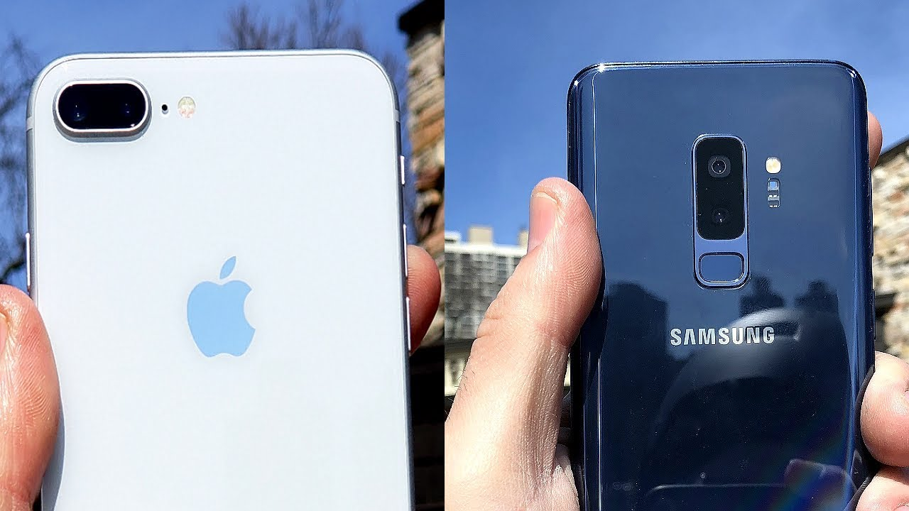 s9+ vs s9 vs iphone 8+