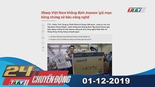 TayNinhTV | 24h Chuyển động 01-12-2019 | Tin tức hôm nay